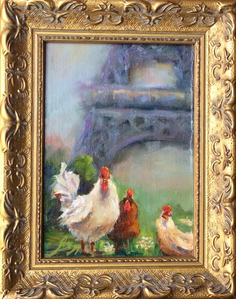 """""""My Paris Vacation"""" original fine art by Susie Monzingo"""