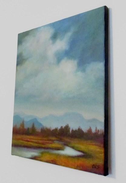 """October Valley"" original fine art by ~ces~ Christine E. S. Code"