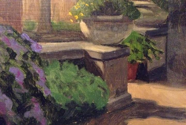 """43 - Botanic Gardens"" original fine art by Edward Watson"