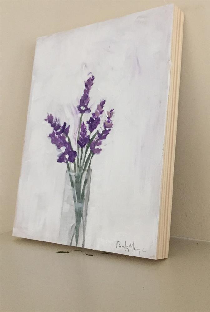 """Lavender Bouquet"" original fine art by Pamela Munger"