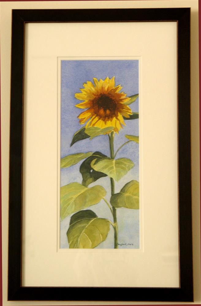 """Sunflower II"" original fine art by Vikki Bouffard"