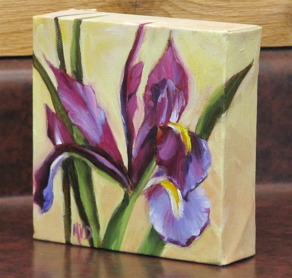 """Dutch Purple"" original fine art by Mary Van Deman"