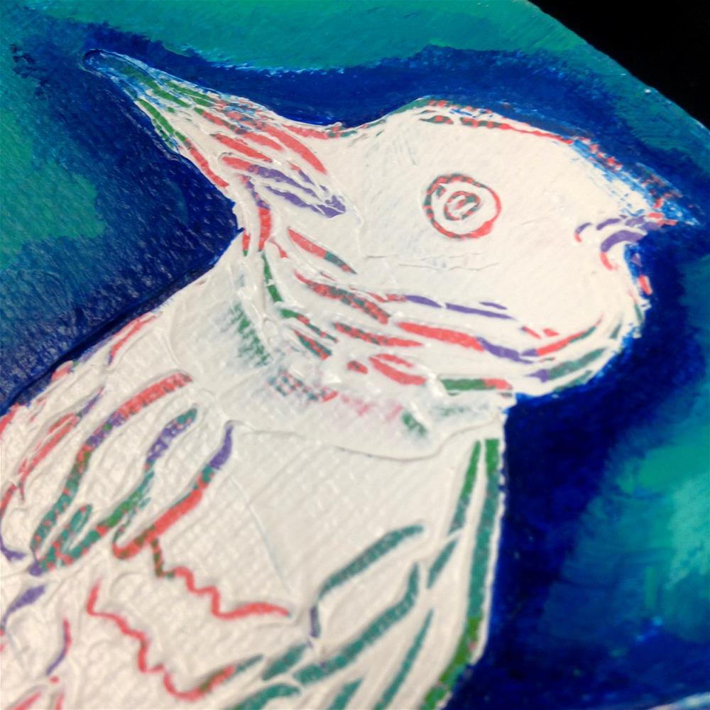 """Got My Eye On You"" original fine art by Nicole Saunders"