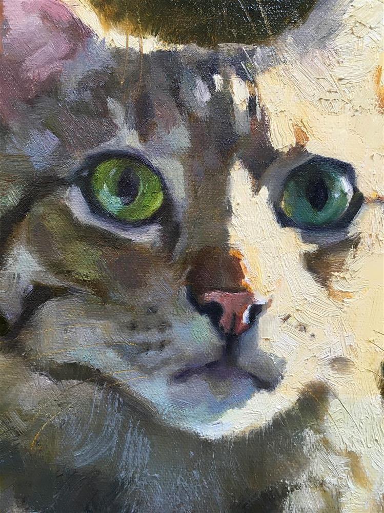 """Adopt290"" original fine art by Katya Minkina"