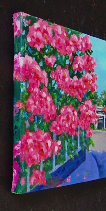 """""""Pinks"""" original fine art by Patricia Musgrave"""