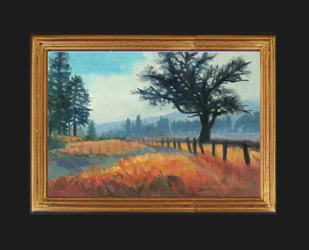 """""""Morning Fog"""" original fine art by Rhett Regina Owings"""