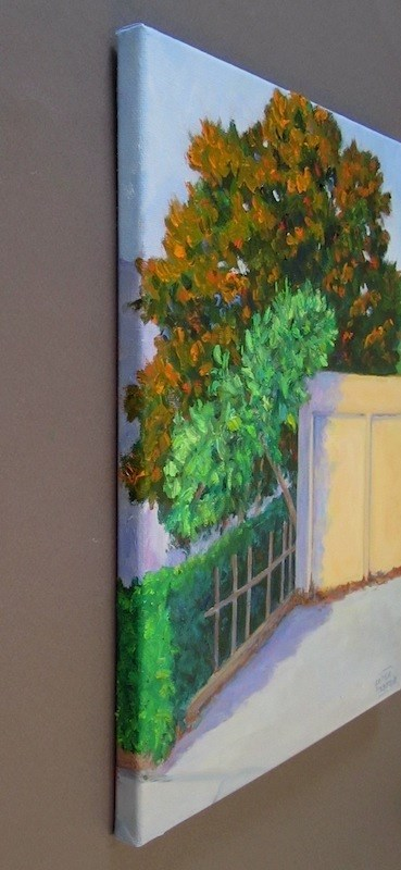 """Three Trees"" original fine art by Patricia Musgrave"