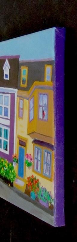 """Downhill"" original fine art by Patricia Musgrave"