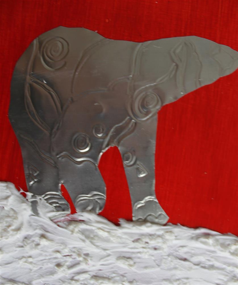 """""""Vanishing Polar Beauty"""" original fine art by Christiane Kingsley"""