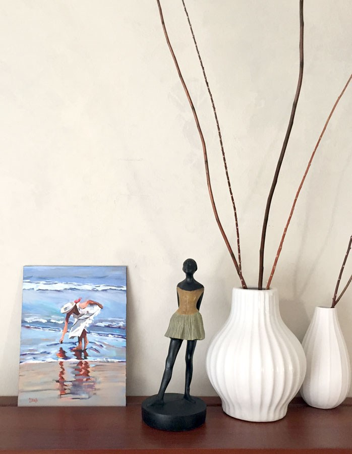 """Shell Searcher"" original fine art by Andrea Jeris"