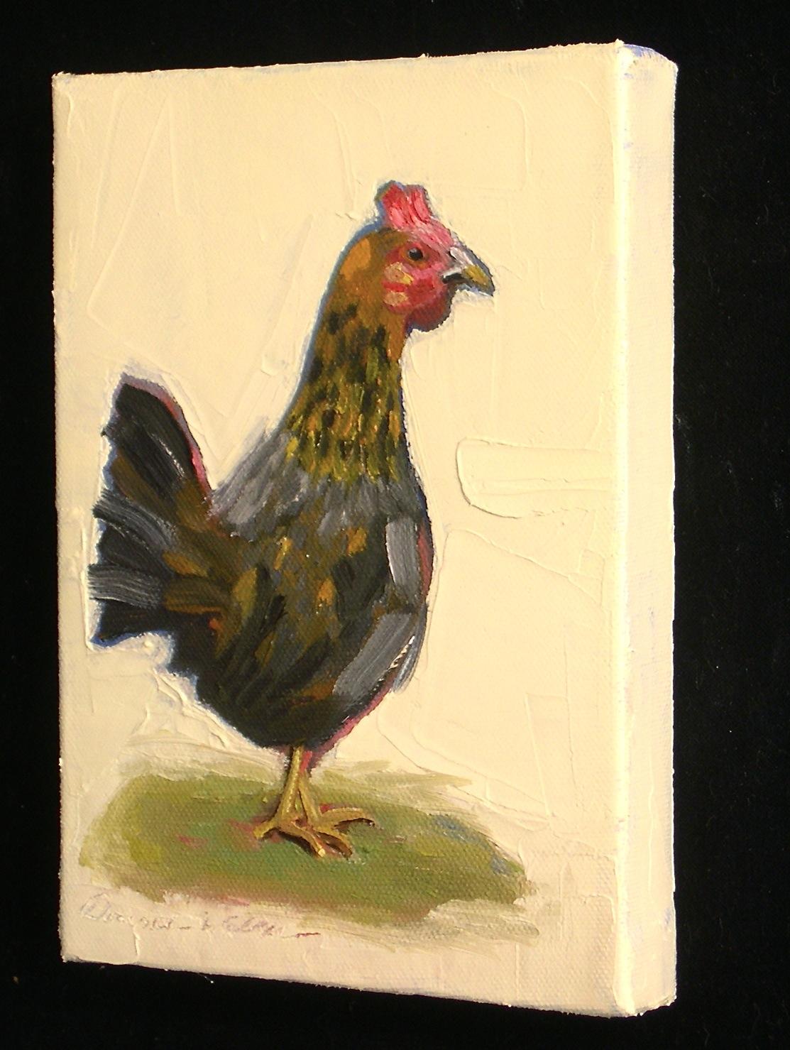 """""""Gallina"""" original fine art by Donna Walker"""