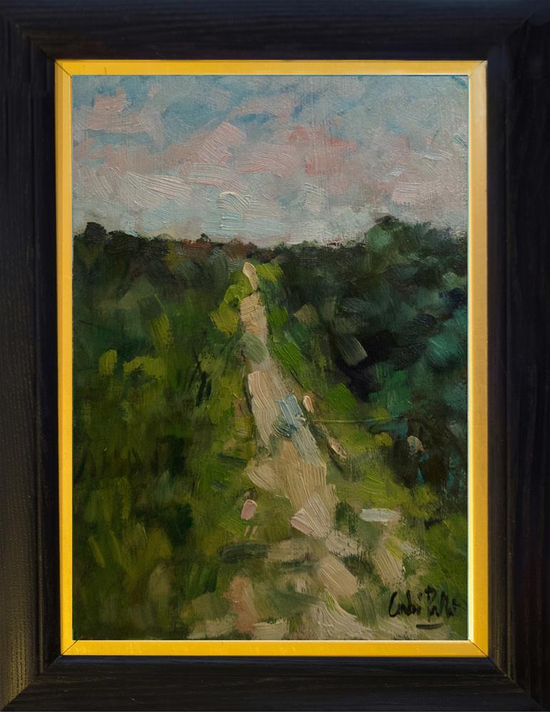 """Path neat the River"" original fine art by Andre Pallat"