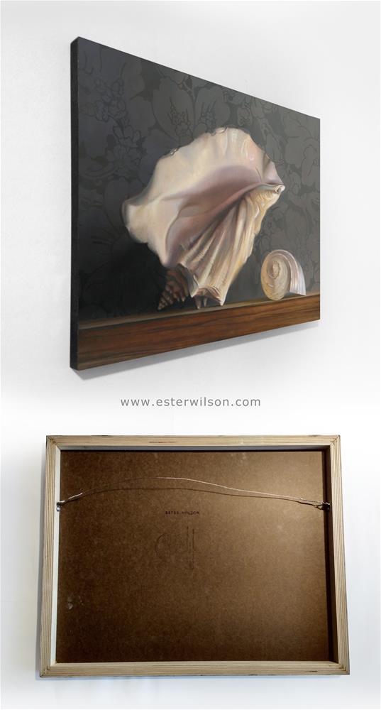 """""""Ocean Relics"""" original fine art by Ester Wilson"""