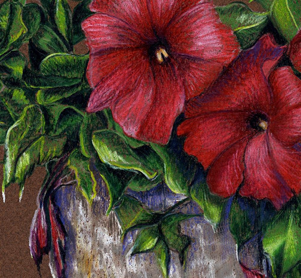 """To Brighten Your Day"" original fine art by Valorie Sams"