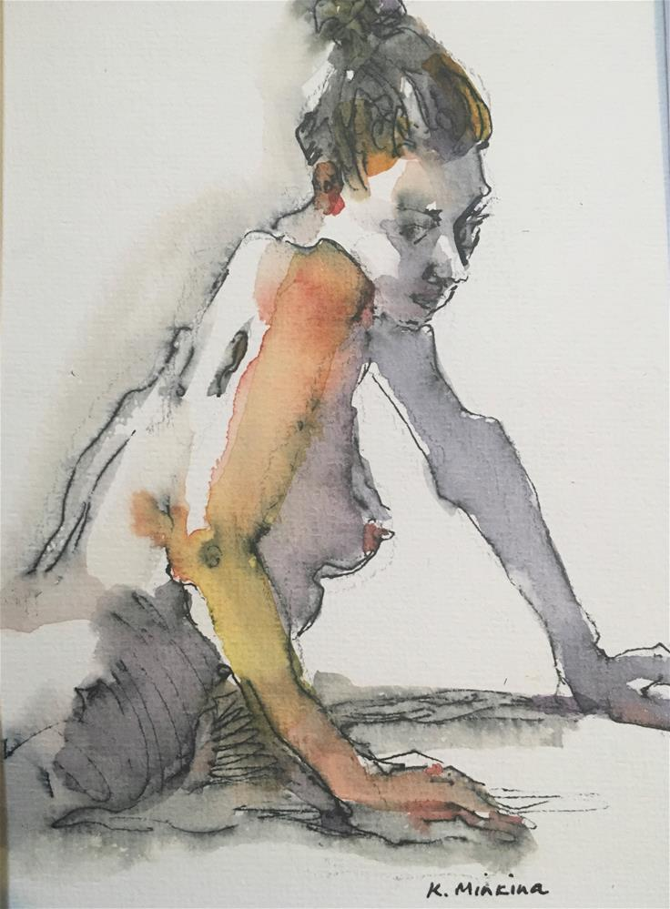 """Figuary39"" original fine art by Katya Minkina"