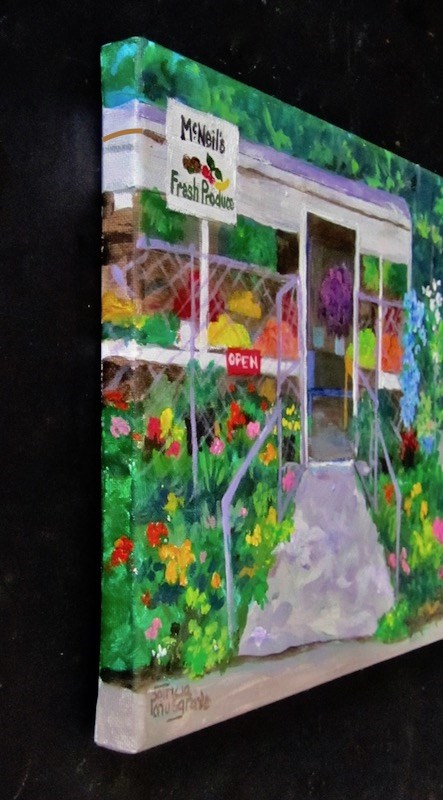 """Mc Neil's Produce"" original fine art by Patricia Musgrave"