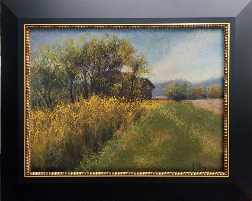 """In The Territory"" original fine art by Pamela Hamilton"