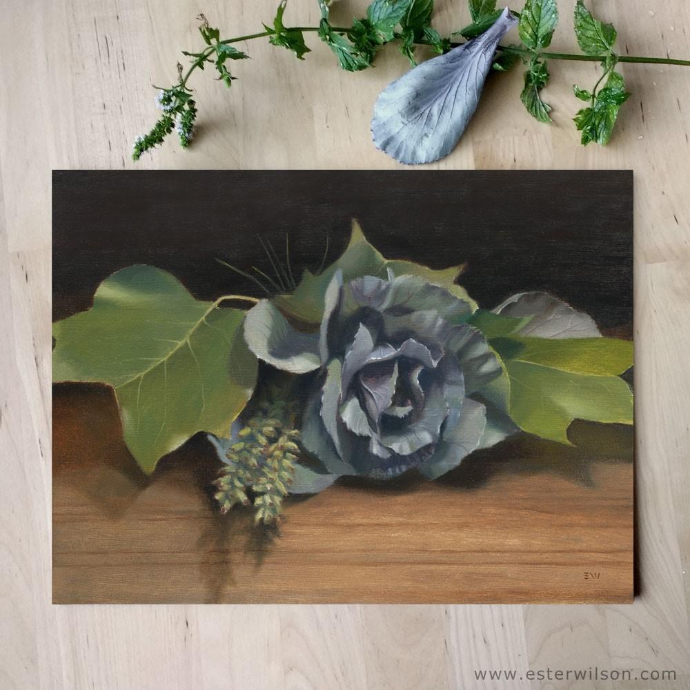 """Nature Arrangement"" original fine art by Ester Wilson"