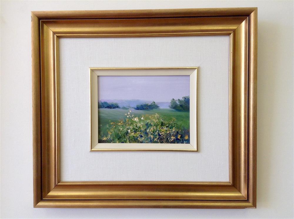 """""""After the Rain"""" original fine art by Cathy Boyd"""