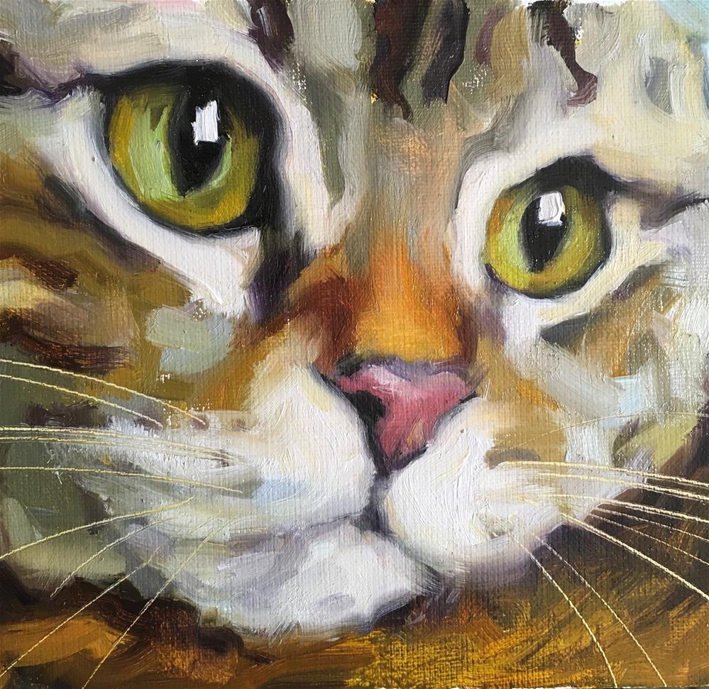 """Adopt387"" original fine art by Katya Minkina"