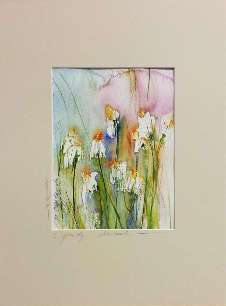 """Comomiles 5"" original fine art by Marlena Czajkowska"