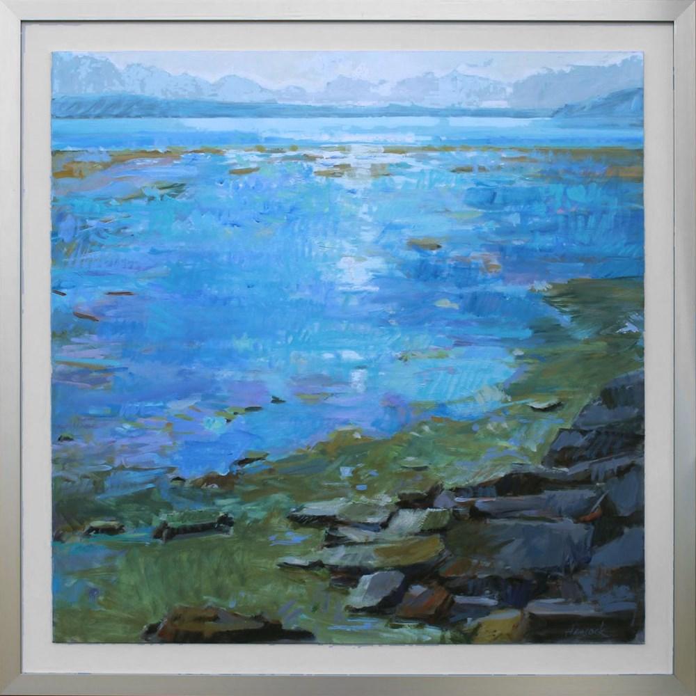 """Tramp Harbor"" original fine art by Gretchen Hancock"