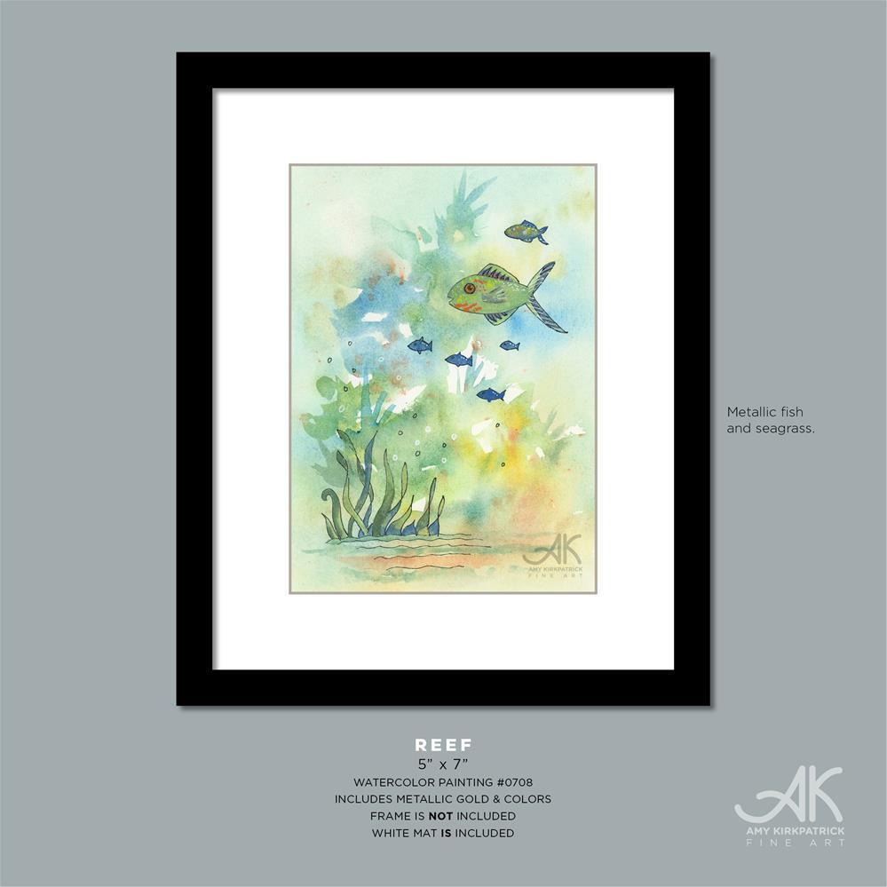 """""""REEF #708"""" original fine art by Amy Kirkpatrick"""