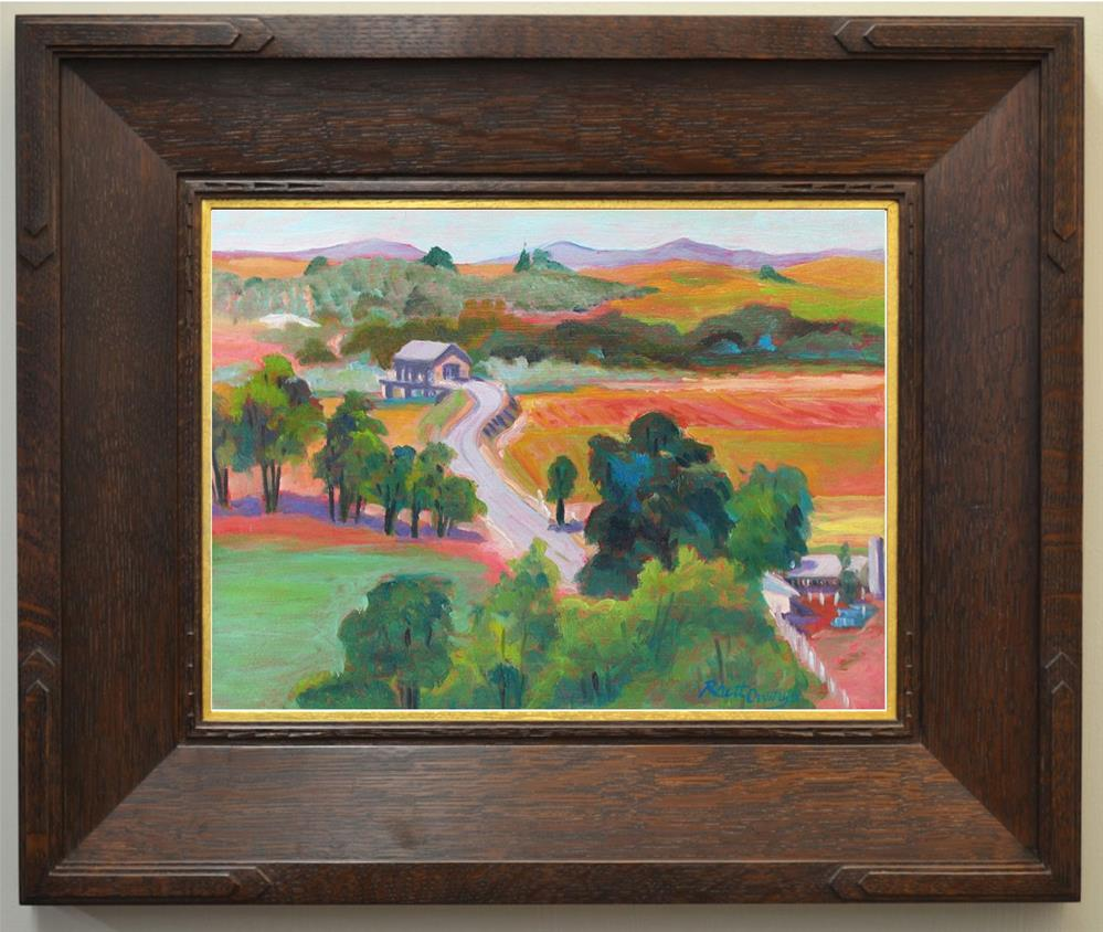 """Robert's Ferry Bridge"" original fine art by Rhett Regina Owings"