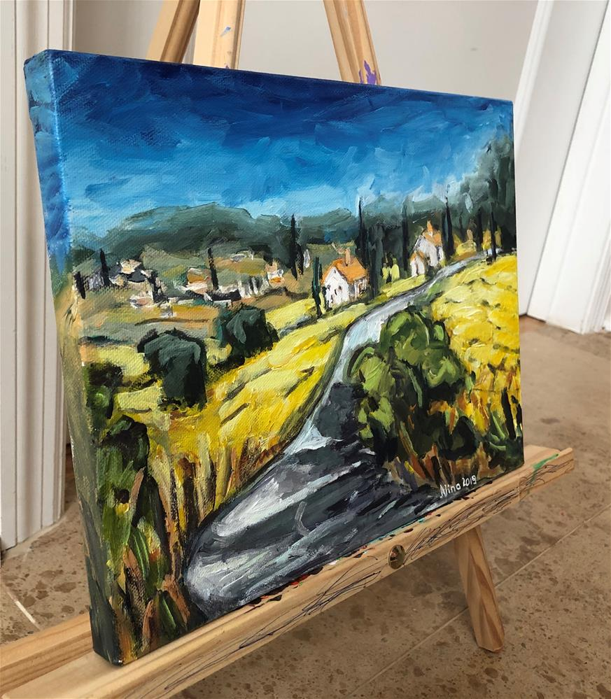 """""""Tuscany """" original fine art by Alina Vidulescu"""