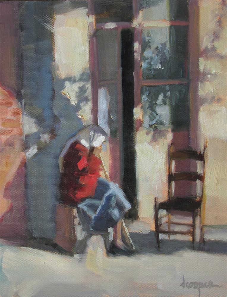 """A Place To Rest"" original fine art by Dana Cooper"