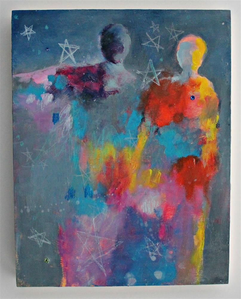 """Star Dreamers "" original fine art by Kerri Blackman"