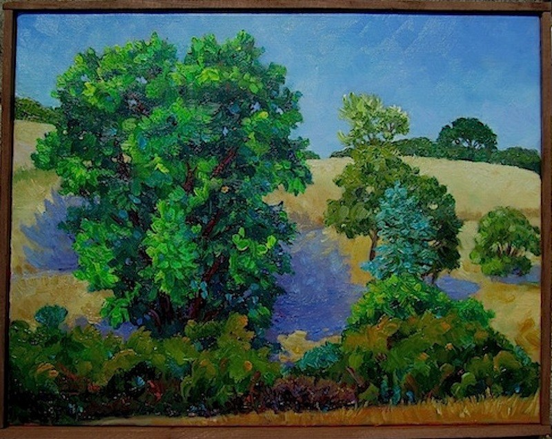 """The Majestic Tree"" original fine art by Patricia Musgrave"