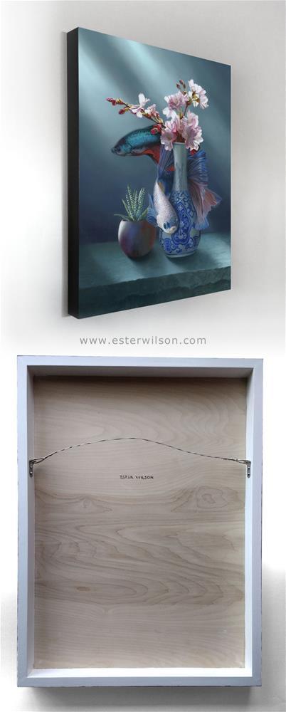 """Stream"" original fine art by Ester Wilson"