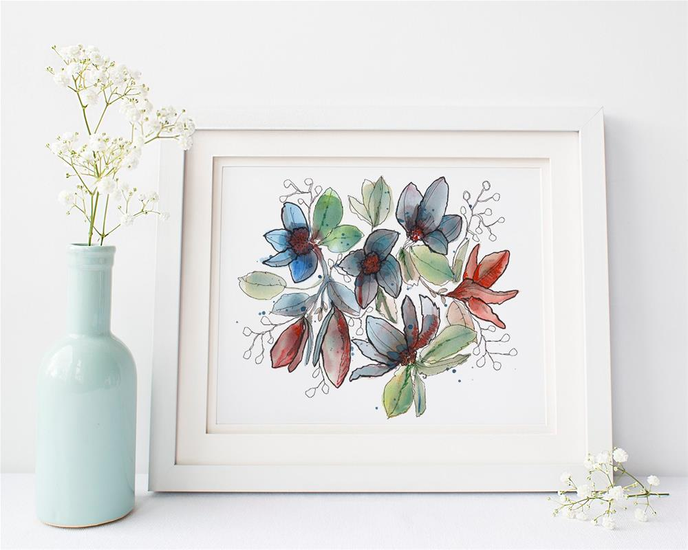 """Makedu"" original fine art by Tonya Doughty"