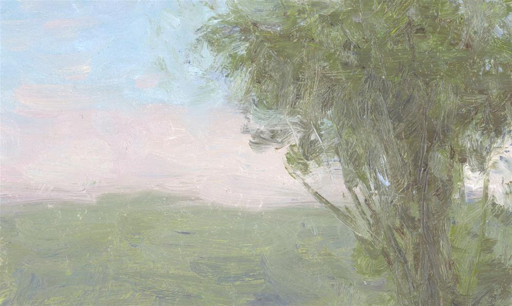 """Prospect Park II, circa 1990's"" original fine art by Walter Lynn Mosley"