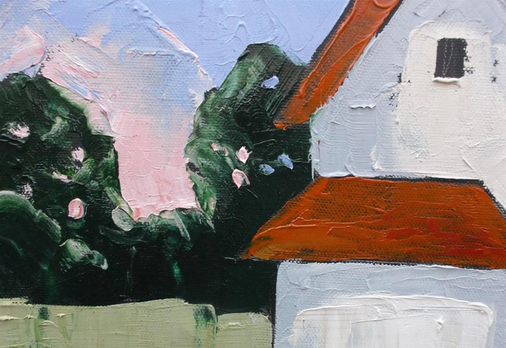 """""""California Farmhouse"""" original fine art by lynne french"""