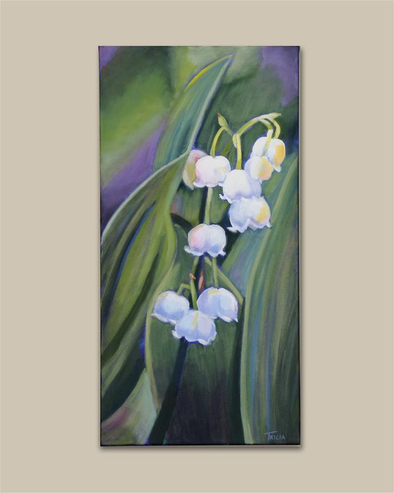 """""""Lily of the Valley"""" original fine art by Tricia Granzier"""