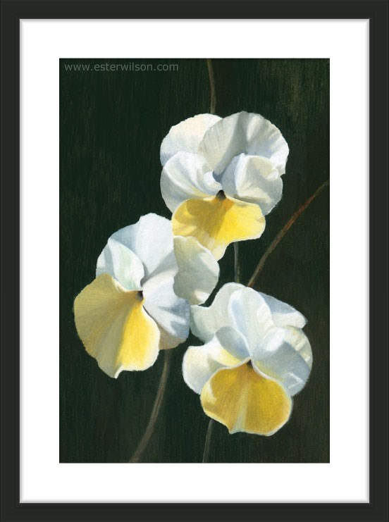 """Three's A Charm"" original fine art by Ester Wilson"