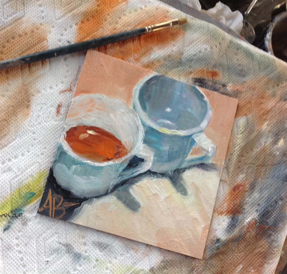 """Cinnamon Tea"" original fine art by Annette Balesteri"