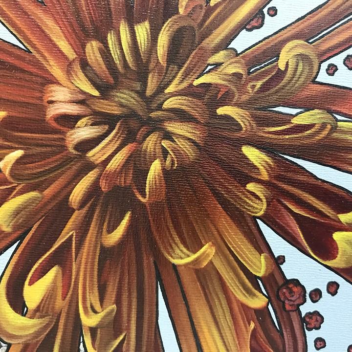 """Bouquet II"" original fine art by Jelaine Faunce"