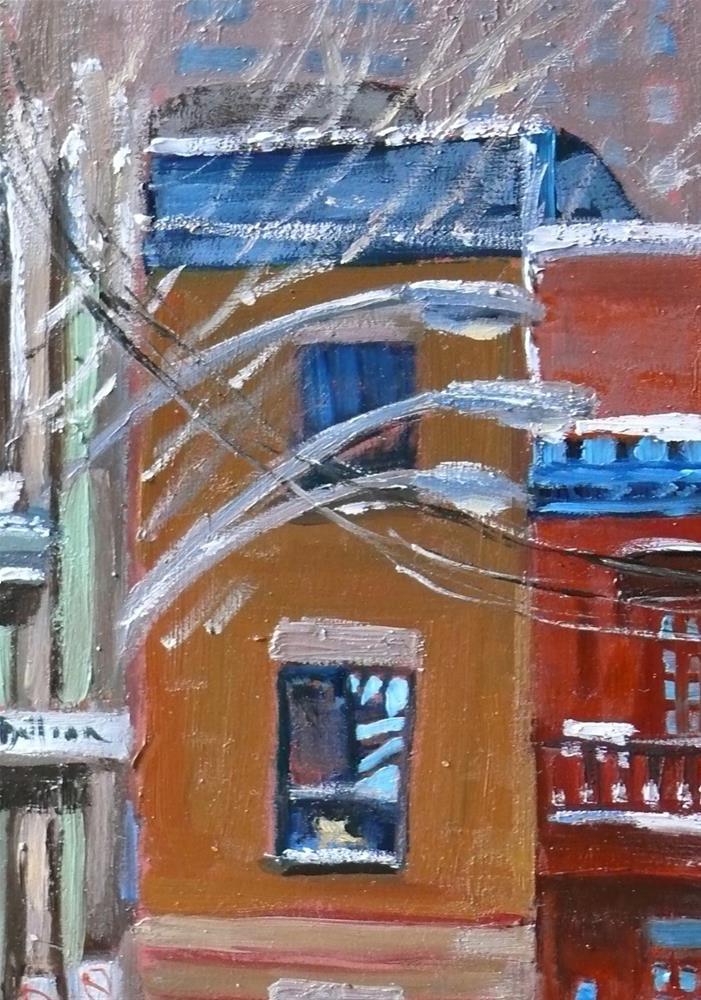 """""""1134 Rue de Bullion, 8x10, oil on board"""" original fine art by Darlene Young"""