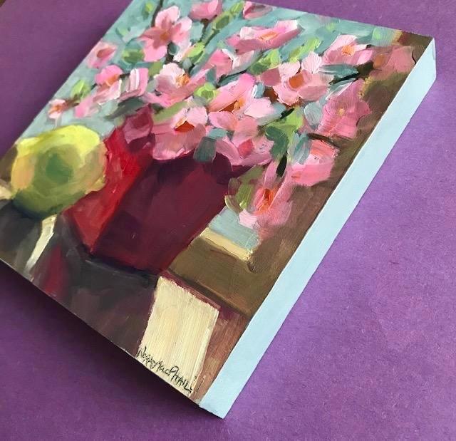 """""""starburst"""" original fine art by Nora MacPhail"""