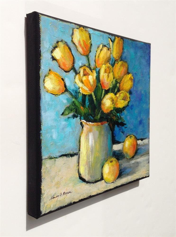 """All That Jazz"" original fine art by Nancy F. Morgan"
