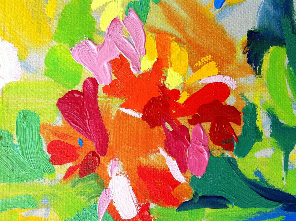 """""""Bold and bright!"""" original fine art by Haidee-Jo Summers ROI"""