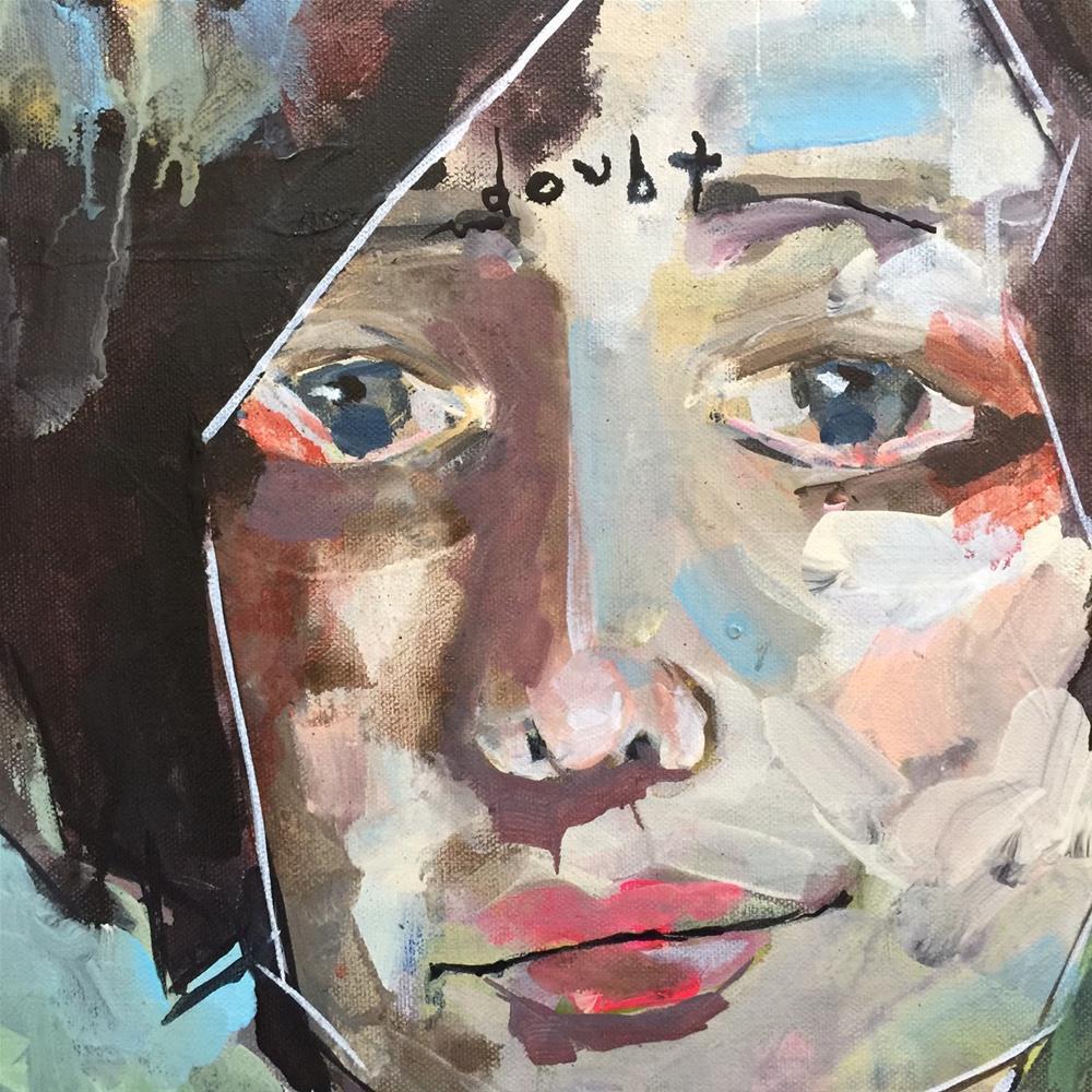 """""""469 Doubt"""" original fine art by Jenny Doh"""