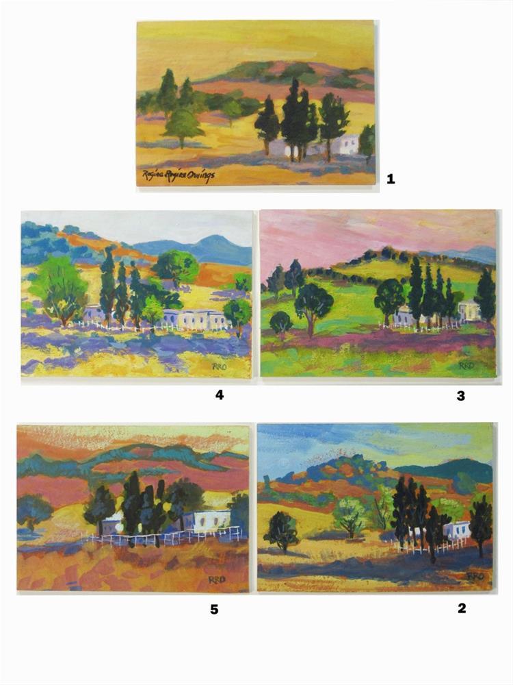 """""""Foothill Homestead #5"""" original fine art by Rhett Regina Owings"""