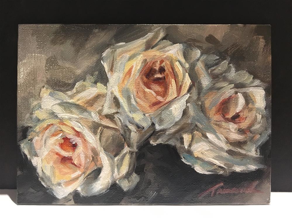 """Romantic Roses "" original fine art by Tamanda Elia"