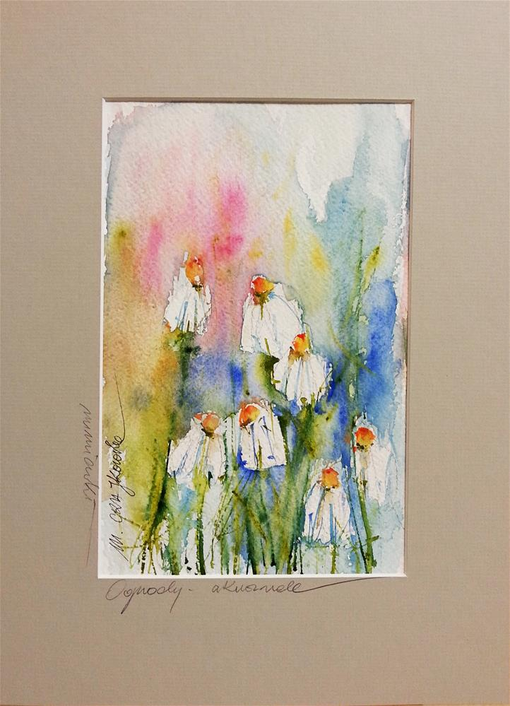 """Comomiles 4"" original fine art by Marlena Czajkowska"