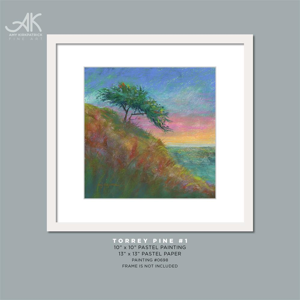 """TORREY PINE 1 #0698"" original fine art by Amy Kirkpatrick"