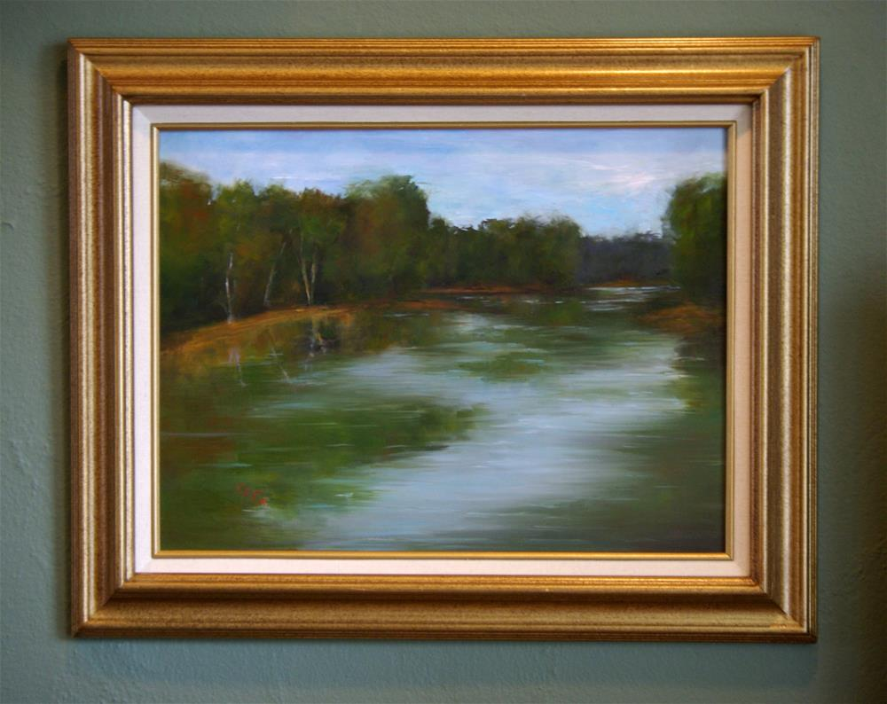 """Chesapeake Cove "" original fine art by Gail G. Slockett"